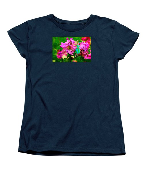 Flower Fairy  Women's T-Shirt (Standard Cut) by Andre Faubert