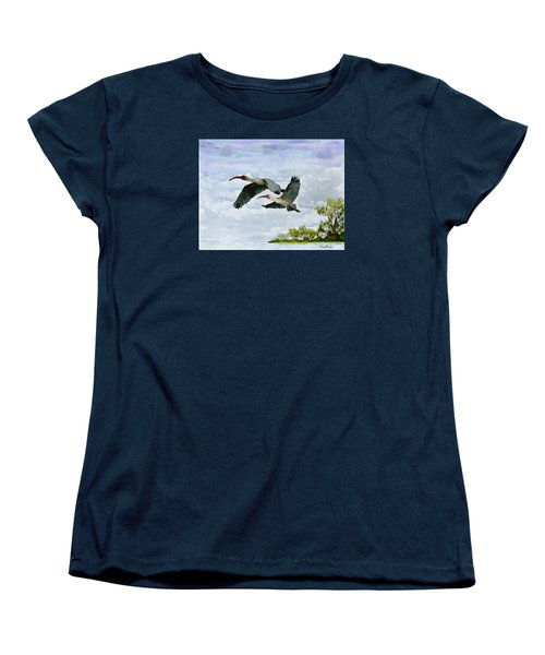Fly Away Women's T-Shirt (Standard Cut) by Wayne Pascall