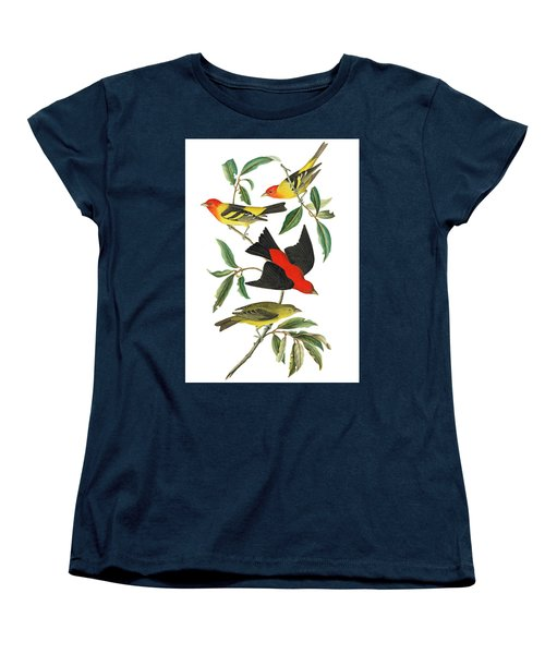 Women's T-Shirt (Standard Cut) featuring the photograph Flying Away by Munir Alawi
