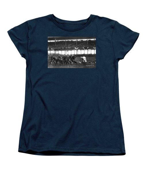 Football Game, 1925 Women's T-Shirt (Standard Cut) by Granger