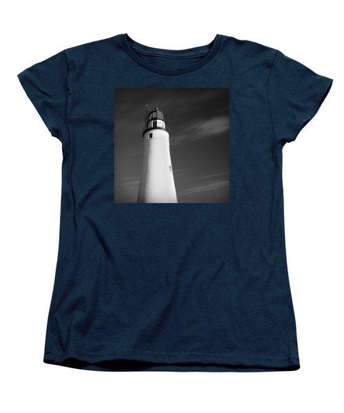 Women's T-Shirt (Standard Cut) featuring the photograph Fort Gratiot Lighthouse by Gordon Dean II