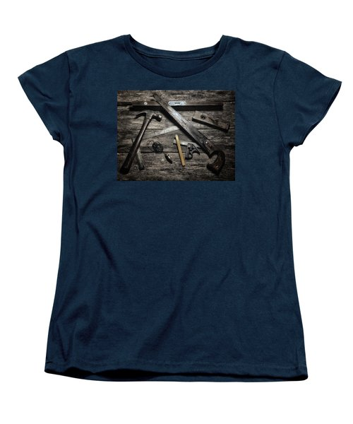 Women's T-Shirt (Standard Cut) featuring the photograph Granddad's Tools by Mark Fuller