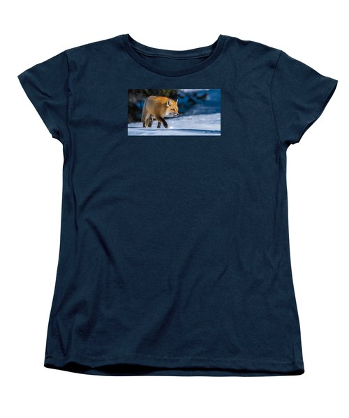 Women's T-Shirt (Standard Cut) featuring the photograph Handsome Mr. Fox by Yeates Photography