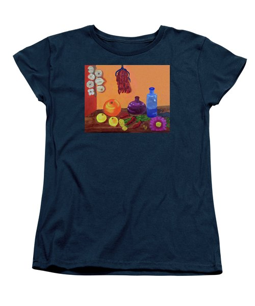 Hanging Around With Spices Women's T-Shirt (Standard Cut) by Margaret Harmon