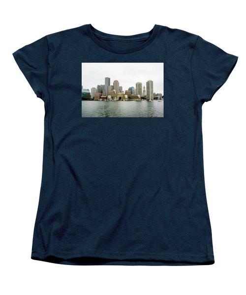 Harbor View Women's T-Shirt (Standard Cut) by Greg Fortier