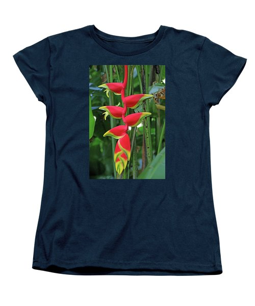 Hawaii Flora Women's T-Shirt (Standard Cut) by Denise Moore