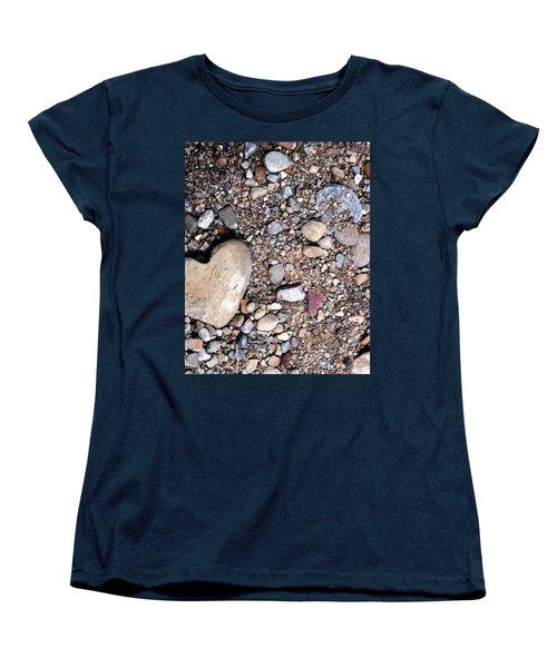 Heart Of Stone Women's T-Shirt (Standard Cut) by Danielle R T Haney
