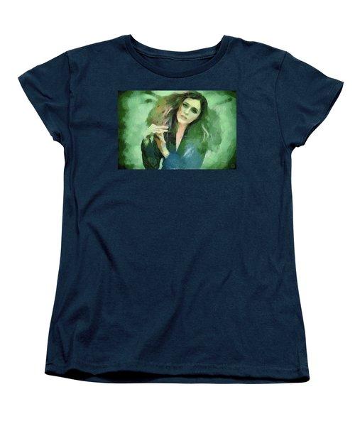 Women's T-Shirt (Standard Cut) featuring the digital art In Vain by Gun Legler