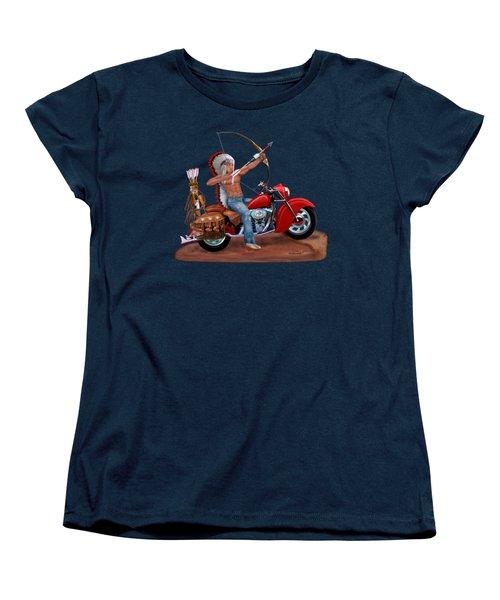 Indian Forever Women's T-Shirt (Standard Cut) by Glenn Holbrook