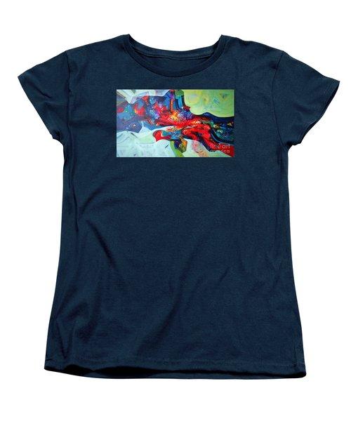 Inner Power Women's T-Shirt (Standard Cut) by Sanjay Punekar