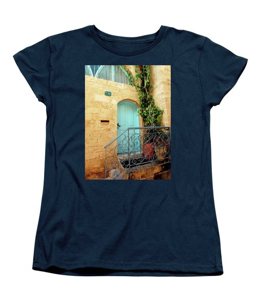 Jaffa-israel Women's T-Shirt (Standard Cut) by Denise Moore