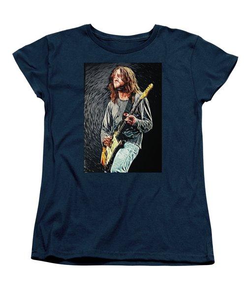 John Frusciante Women's T-Shirt (Standard Cut) by Taylan Apukovska