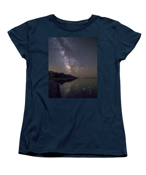 Lake Oahe  Women's T-Shirt (Standard Cut) by Aaron J Groen