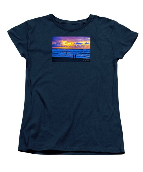 Women's T-Shirt (Standard Cut) featuring the photograph Last Light by Rick Bragan