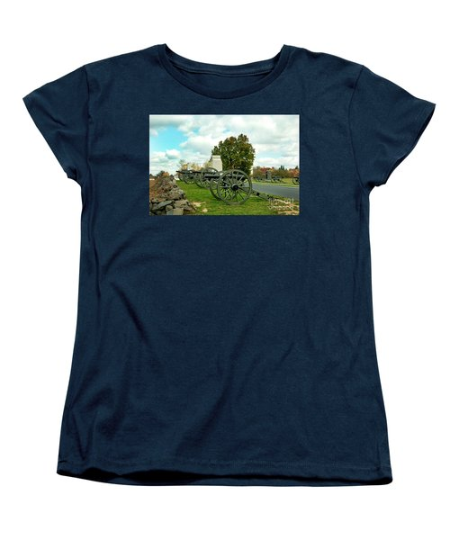 Women's T-Shirt (Standard Cut) featuring the photograph Line Of Fire by Paul W Faust - Impressions of Light