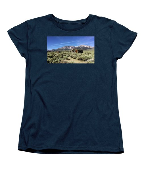Women's T-Shirt (Standard Cut) featuring the photograph Little House by Joseph G Holland