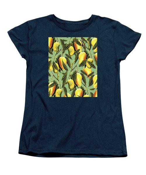 Mango Season Women's T-Shirt (Standard Cut) by Uma Gokhale