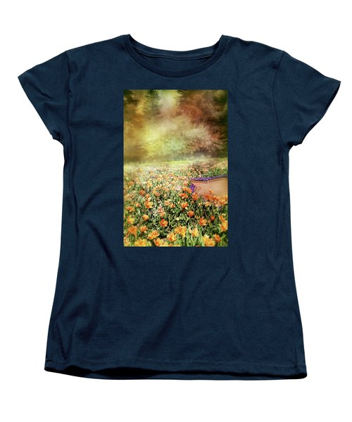 Women's T-Shirt (Standard Cut) featuring the photograph Masquerade by Diana Angstadt