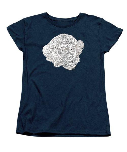 Monkey Women's T-Shirt (Standard Cut) by Jacob Hurley