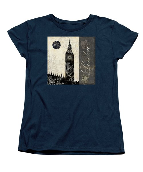 Moon Over London Women's T-Shirt (Standard Cut) by Mindy Sommers