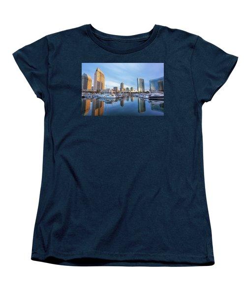 Morning Reflections Women's T-Shirt (Standard Cut) by Joseph S Giacalone