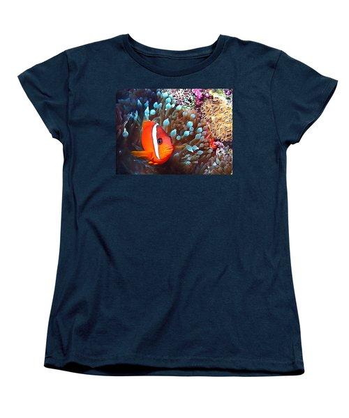 Nemo Women's T-Shirt (Standard Cut) by Jean Noren