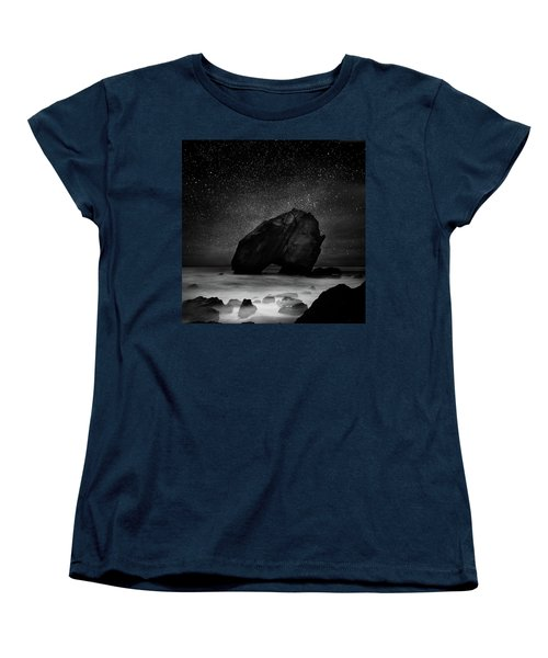 Night Guardian Women's T-Shirt (Standard Cut) by Jorge Maia