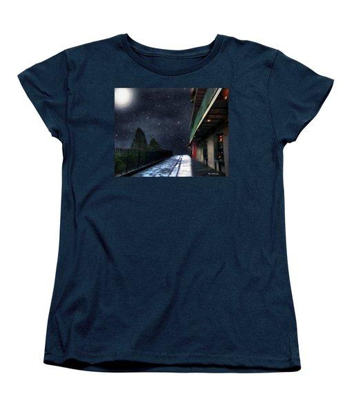 Nightwalk Women's T-Shirt (Standard Cut) by RC deWinter