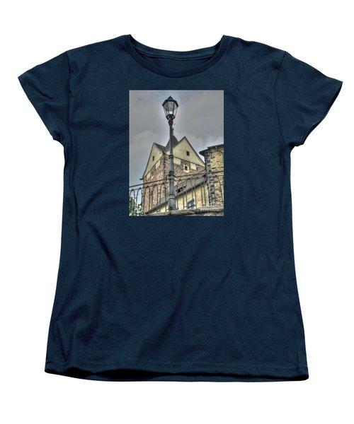 old Tallin Women's T-Shirt (Standard Cut) by Yury Bashkin