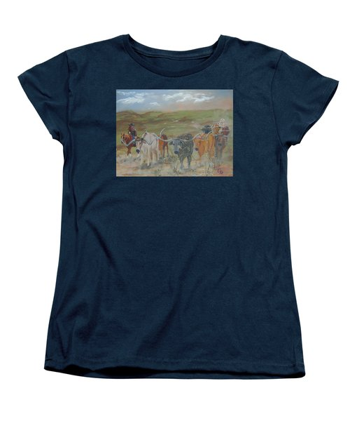 On The Chisholm Trail Women's T-Shirt (Standard Cut)