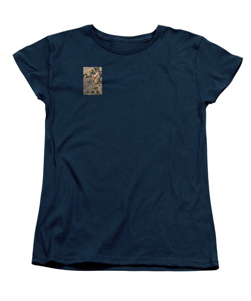 Women's T-Shirt (Standard Cut) featuring the photograph On The Rocks by Peter Tellone