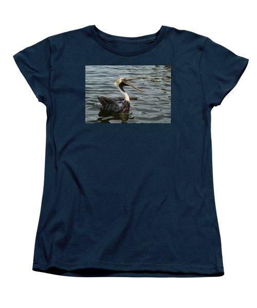 Women's T-Shirt (Standard Cut) featuring the photograph Open Wide by Jean Noren