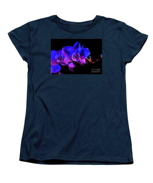 Women's T-Shirt (Standard Cut) featuring the photograph Orchid by Brian Jones