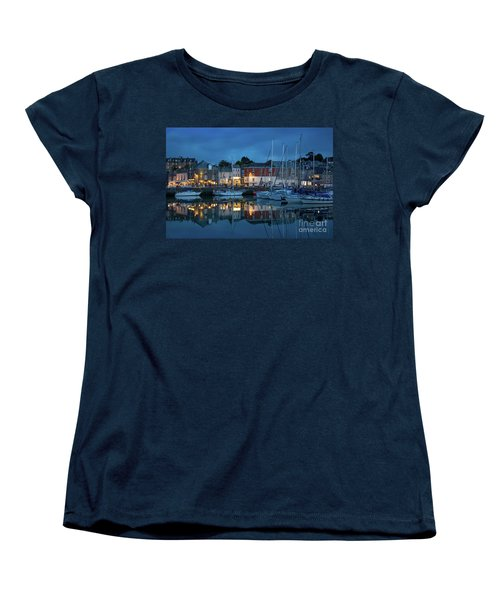 Women's T-Shirt (Standard Cut) featuring the photograph Padstow Evening by Brian Jannsen