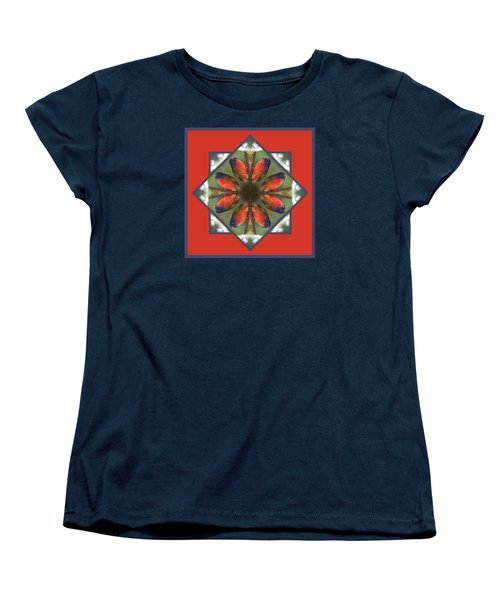 Painted Bunting Women's T-Shirt (Standard Cut) by Rhoda Gerig