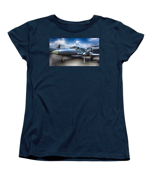 Parked Women's T-Shirt (Standard Cut) by Charuhas Images