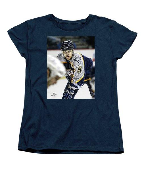 Paul Kariya Women's T-Shirt (Standard Cut) by Don Olea