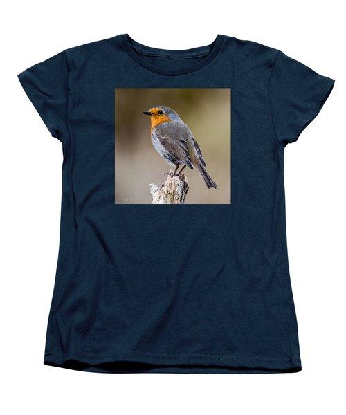 Perching Women's T-Shirt (Standard Cut) by Torbjorn Swenelius