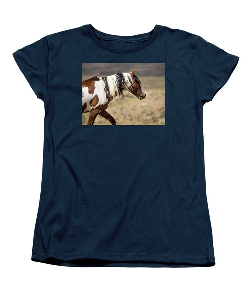 Picasso Of Sand Wash Basin Women's T-Shirt (Standard Cut) by Nadja Rider