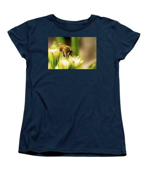 Pollen Collector  Women's T-Shirt (Standard Cut) by Jay Stockhaus