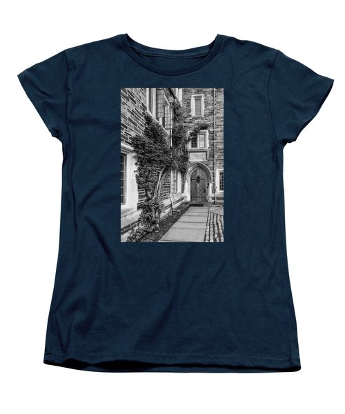 Women's T-Shirt (Standard Cut) featuring the photograph Princeton University Foulke Hall II by Susan Candelario