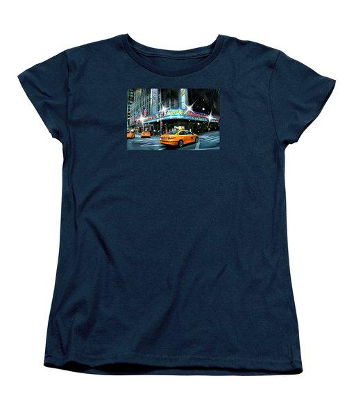 Radio City Women's T-Shirt (Standard Cut) by Diana Angstadt