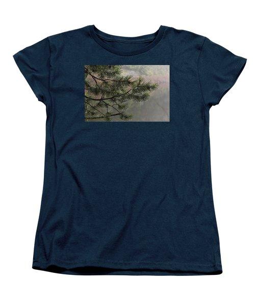 Rain Drops Women's T-Shirt (Standard Cut) by Inge Riis McDonald