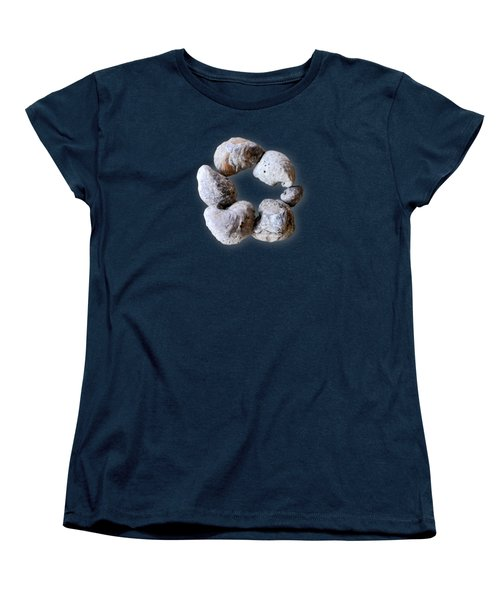 Women's T-Shirt (Standard Cut) featuring the photograph Ring Of Fossils by Cheryl McClure