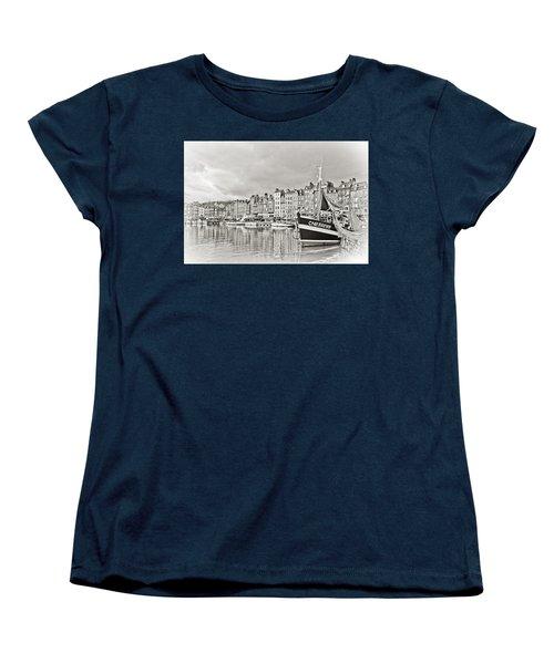 Safe Harbor Women's T-Shirt (Standard Cut) by Catherine Alfidi