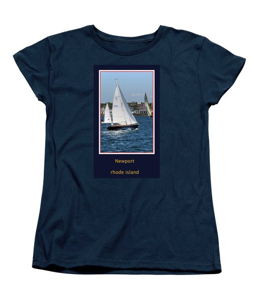 Sailing Newport Women's T-Shirt (Standard Cut)