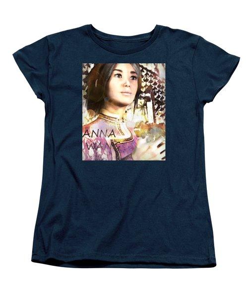 Saint Anna Wang 6 Women's T-Shirt (Standard Cut) by Suzanne Silvir