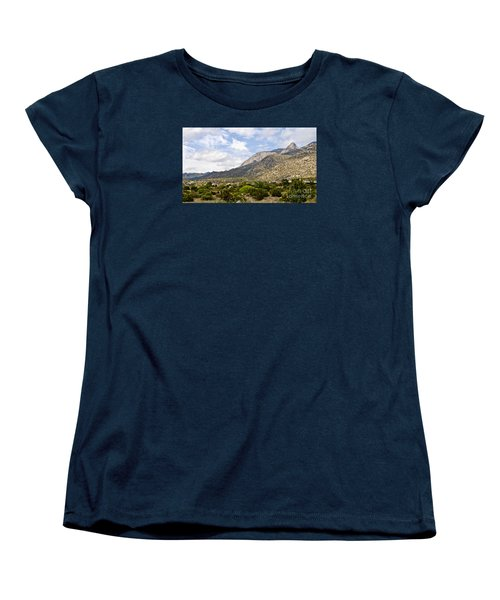 Sandia Mountains Women's T-Shirt (Standard Cut) by Gina Savage
