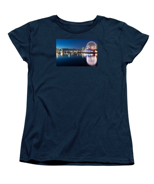 Science World Vancouver Women's T-Shirt (Standard Cut) by Sabine Edrissi