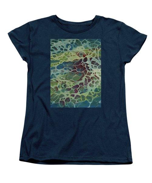 Sea Foam Women's T-Shirt (Standard Cut)